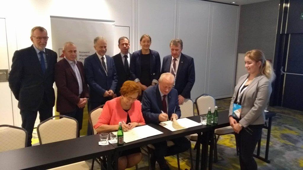 Podpisanie porozumienia KWSPU - PUIG