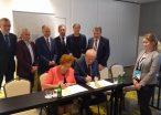 Podpisanie porozumiani KWSPU - PUIG